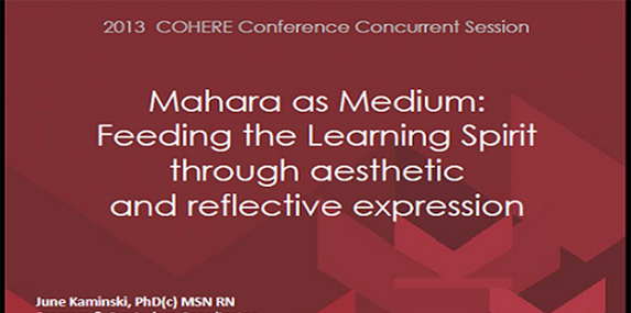 Mahara as Medium
