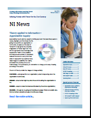 Nursing Informatics NI News Ezine - Infusing Nurses with Power for the